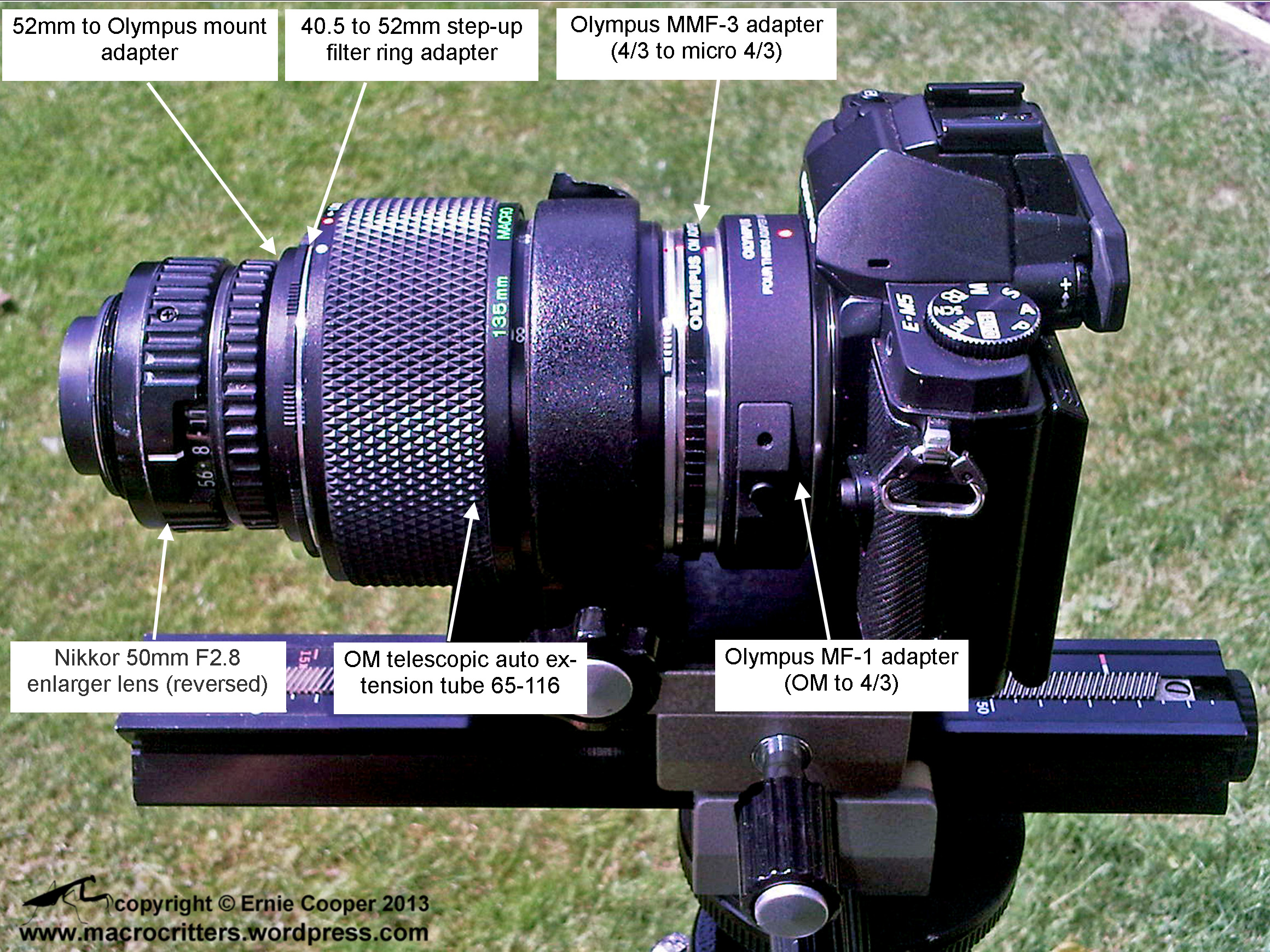 Nikkor enlarger lens | macrocritters